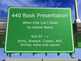 440 Book Presentation