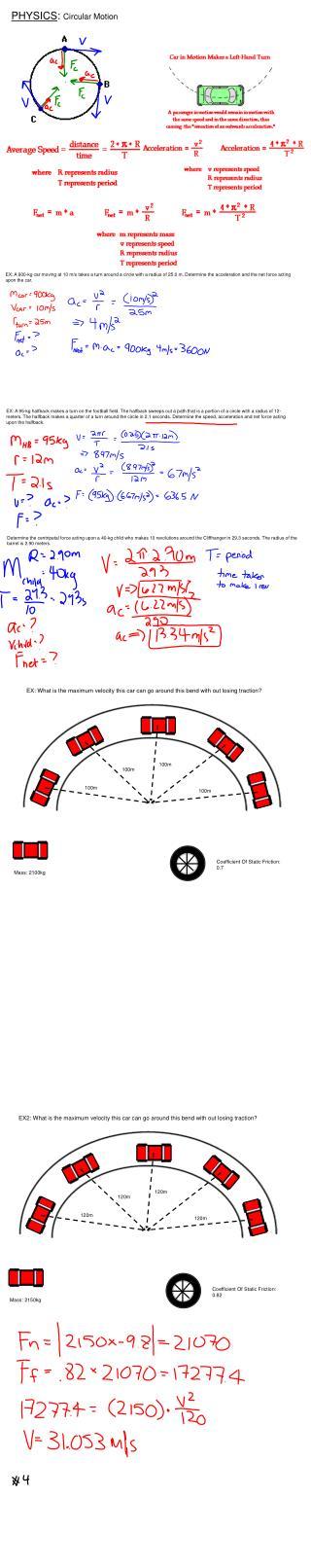 PHYSICS :  Circular Motion