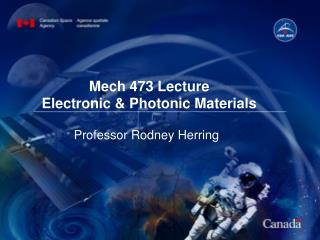 Optoelectronic Materials
