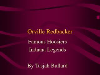 Orville Redbacker