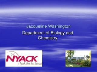 Jacqueline Washington