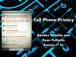 Cell Phone Privacy