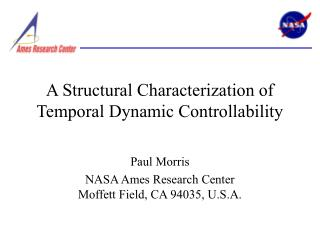 A Structural Characterization of Temporal Dynamic Controllability