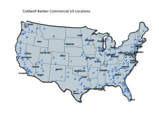 Coldwell Banker Commercial US Locations