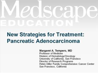 New Strategies for Treatment: Pancreatic Adenocarcinoma
