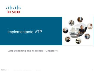 Implementanto VTP