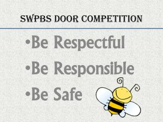 SWPBS Door Competition