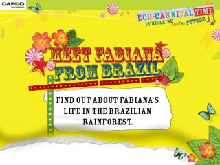 Schools Primary Eco Carnival Fabianas story