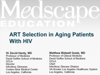 ART Selection in Aging Patients With HIV