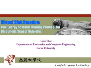 Virtual Sink Rotation: Low-Energy Scalable Routing Protocol for Ubiquitous Sensor Networks
