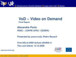 VoD – Video on Demand Final Report