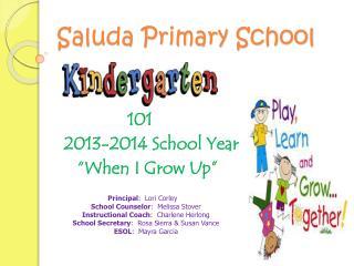 Saluda Primary School