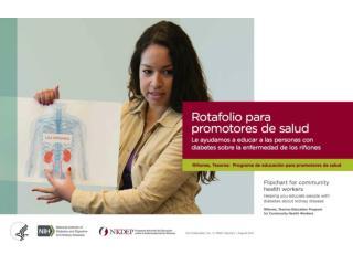 Rotafolio  para  promotores  de  salud