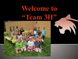 """Welcome to  """"Team 3H"""""""