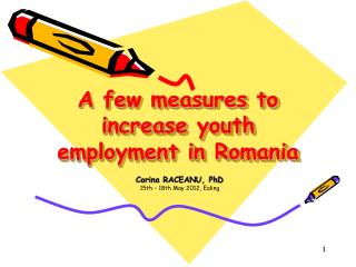A few measures to increase youth employment in Romania