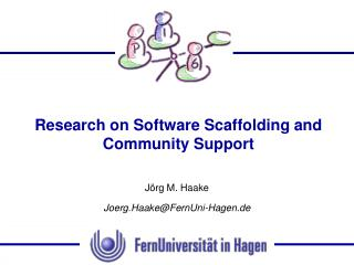 Research on Software Scaffolding and Community Support