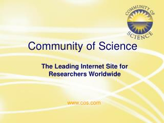 Community of Science