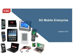 SO Mobile Enterprise