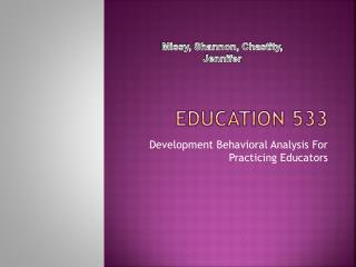 EDUCATION 533