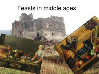 Feasts in middle ages