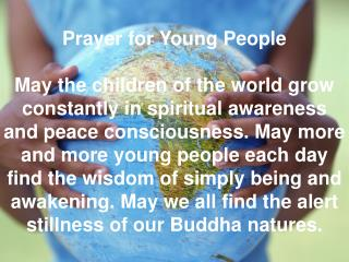 Prayer for Young People