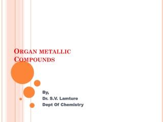 Organometallic Reagents