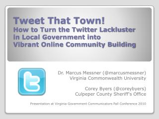 Dr. Marcus  Messner  (@ marcusmessner ) Virginia Commonwealth University