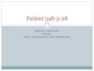 Patient 548-5-28