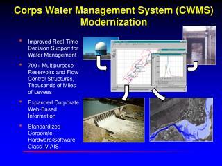 Corps Water Management System CWMS Modernization