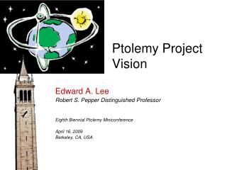 Ptolemy Project Vision