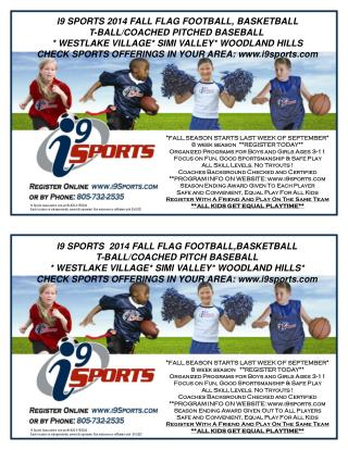 i9 Sports Association non-profit #20-3150304