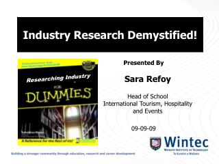 Industry Research Demystified!