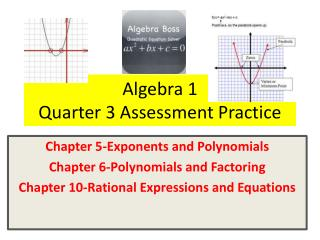 Algebra 1 Quarter 3 Assessment Practice