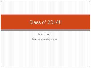 Class of 2014!!