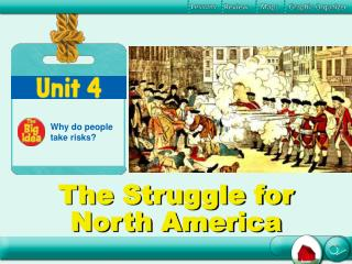 The Struggle for North America