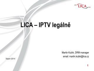 LICA – IPTV legálně