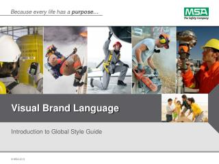 Visual Brand Language