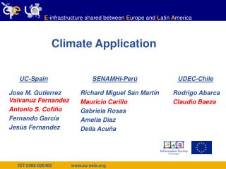 Climate Application