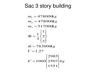 Sac 3 story building
