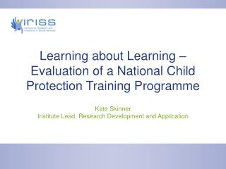 Learning about Learning – Evaluation of a National Child Protection Training Programme