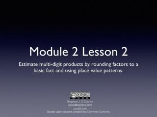 Math Module 2 Lesson 2 r1