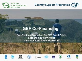 GEF Co-Financing