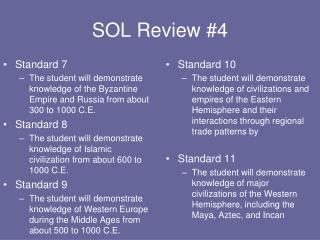 SOL Review #4