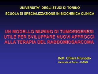 Dott. Chiara Prunotto