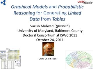 Graphical Models  and  Probabilistic Reasoning  for Generating  Linked Data  from  Tables