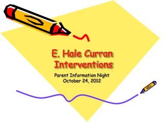 E. Hale Curran  Interventions