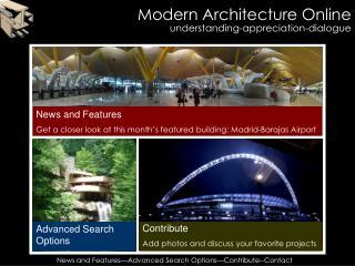 Modern Architecture Online