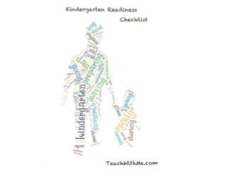Kindergarten Roundup Checklist