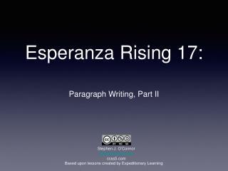 Esperanza Rising 17: