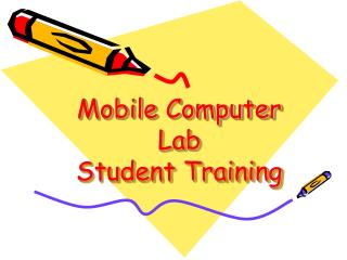 Mobile Computer  Lab  Student Training